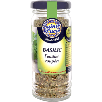 Flacon Feuilles Basilic Coupées 15g