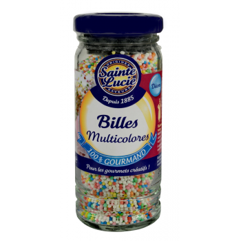 Flacon Billes Multicolores 80g