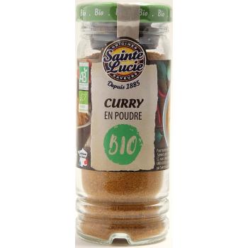 Flacon Curry en Poudre Bio 40g