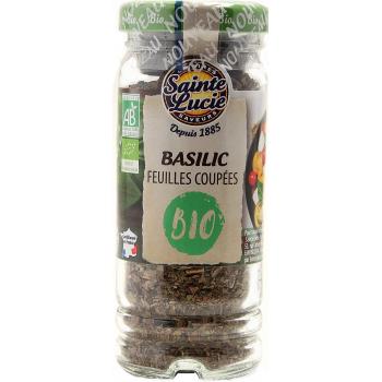 Flacon Feuilles Basilic Bio 15g
