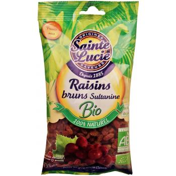 Raisins bruns Sultanine Bio - 125g