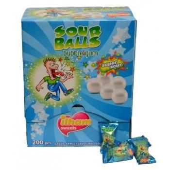 Ilham Gum Sour Ball - 200 pièces