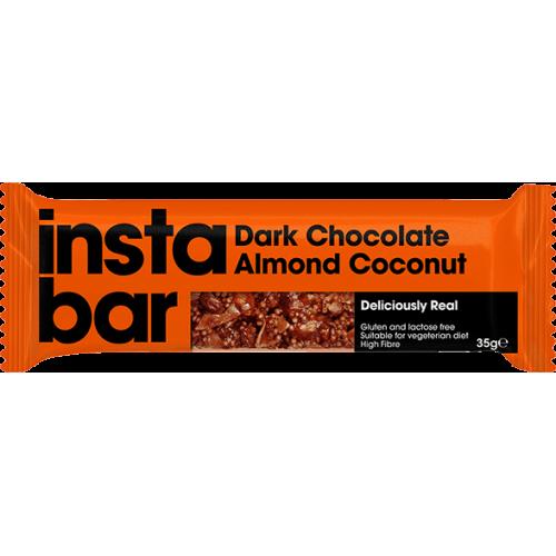 Instabar Chocolat Noir Coco Amande 35g