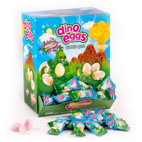 Ilham Gum Œufs de Dinosaures - 200 pièces