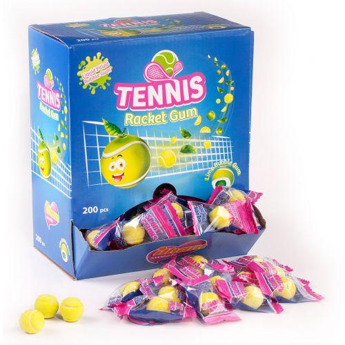 Ilham Gum Balles de Tennis - 200 pièces