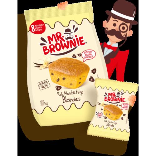 Mr Brownie Vanille Chocolat 200g