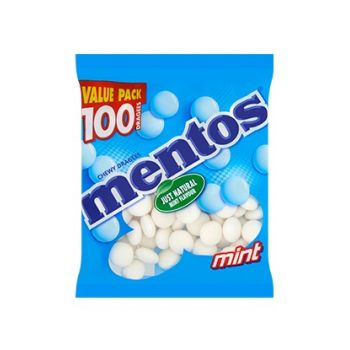 Mentos Mint - 100 dragées