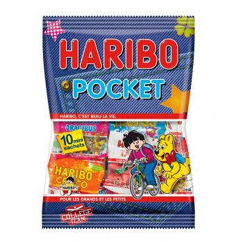 Haribo Pocket - 10 sachets