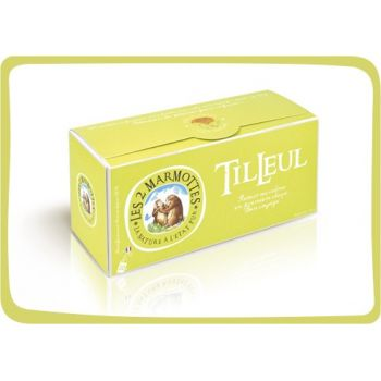2 Marmottes Infusion Tilleul - 30 sachets