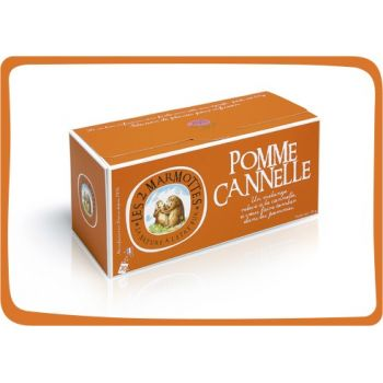 2 Marmottes Infusion Pomme Cannelle - 30 sachets