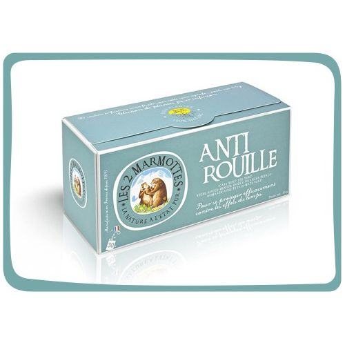 2 Marmottes Anti Rouille - 30 sachets