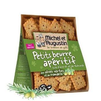 Michel et Augustin Petits Beurre Olive Romarin
