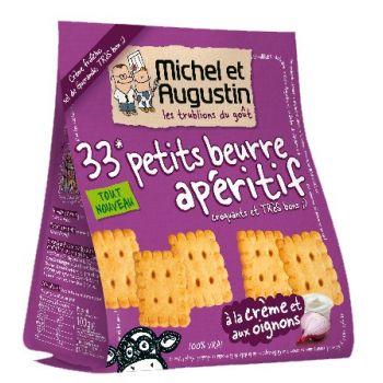 Michel et Augustin Petits Beurre Crème et Oignons