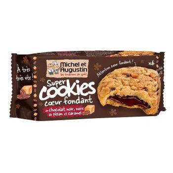 Michel et Augustin Super cookies noix de pécan et chocolat noir