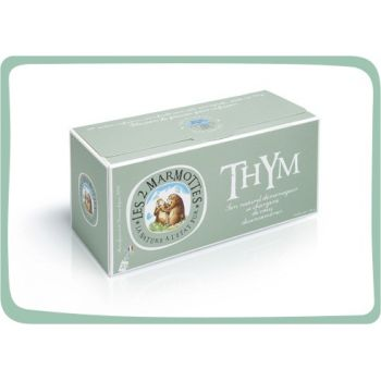 2 Marmottes Infusion Thym - 30 sachets