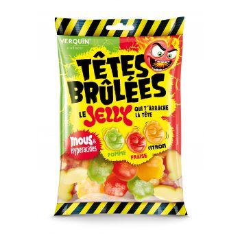 Têtes Brulées Jelly Fruit - 100g
