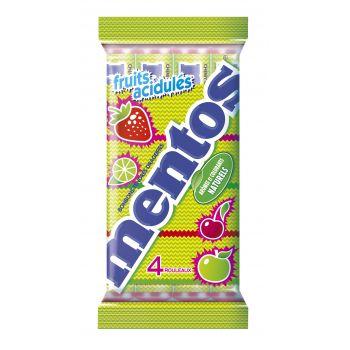 Multipack Mentos Rainbow Sour - 4 rolls