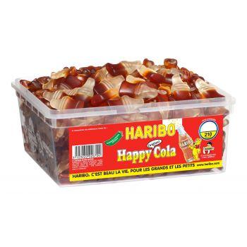 Haribo Happy cola - 210 pièces