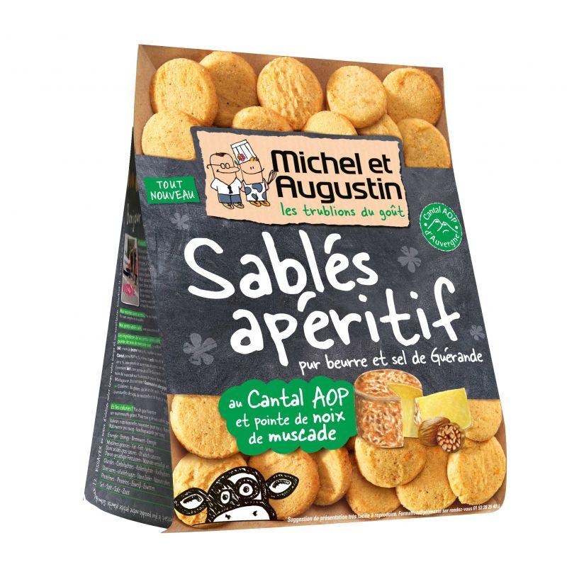 Michel et Augustin Sablé Cantal Noix de Muscade - 120g